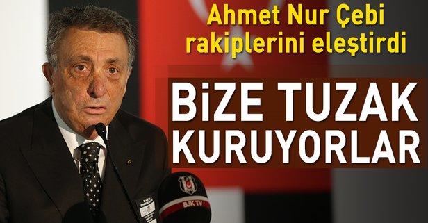 Ahmet Nur Çebi: Bize tuzak kuruyorlar