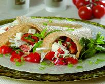 Milföy Külahında Domates Salatası Tarifi