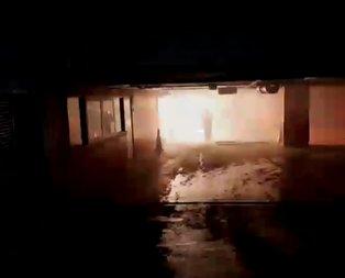 Şişli Belediye binasında yangın paniği!