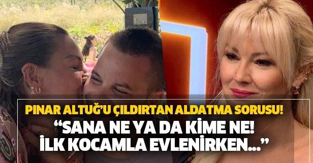 Pınar'ı sinirlendiren soru!