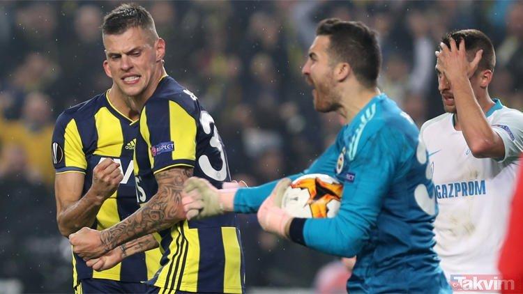 Fenerbahçeli Harun Tekin penaltıyı kurtardı! O sırada Volkan Demirel...