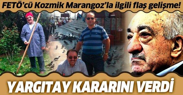 Kozmik Marangoz'a verilen ceza onandı