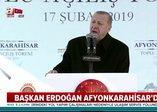 Başkan Erdoğan'dan Afyonkarahisar'a hızlı tren müjdesi