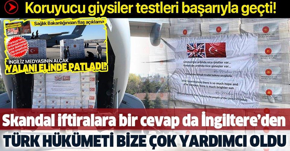Son dakika: İngiltere'den flaş Türkiye açıklaması: Hükümet bu süreçte bize çok yardımcı oldu