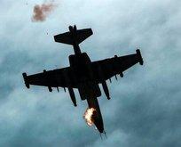 Ermenistan'a ait SU-25 savaş uçağını düşürüldü