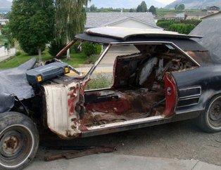 1200 TL'ye aldığı Ford Mustang'i böyle restore etti! İşte ortaya çıkan muhteşem sonuç...