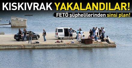 Son dakika: Yunanistan'a kaçmaya çalışan FETÖ şüphelileri Balıkesir'de yakalandı