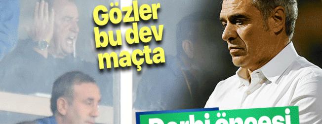 Tüm gözler bu derbide! Maç öncesi Galatasaray'a iyi Fenerbahçe'ye kötü haber