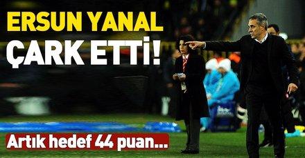 Ersun Yanal Fenerbahçe'nin 2. yarıdaki hedefini güncelledi! Artık hedef 44 puan