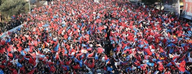 Başkan Erdoğan'a Balıkesir'de büyük jest