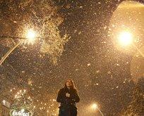 Meteoroloji'den son dakika kar yağışı uyarısı