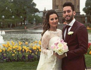 Hakan Çalhanoğlu'nun mutlu günü! Hakan Çalhanoğlu kızı Liya'yı kucağına aldı