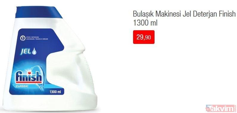 17 Eylül BİM aktüel ürünler kataloğu: Salı günü kampanyaları temizlik ürünlerinden oluşuyor