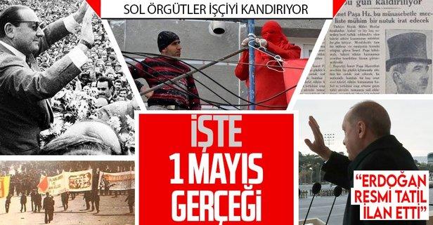 İşte 1 Mayıs gerçeği! Mayıs 2009'da Erdoğan Hükümeti tarafından resmi tatil yapıldı