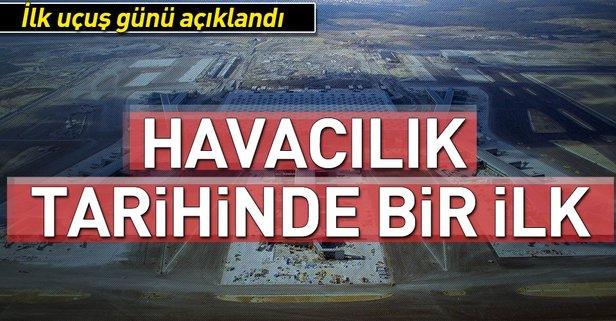 Yeni havalimanından ilk uçuş tarihi belli oldu