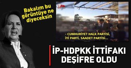 HDP İyi Parti ittifakı deşifre oldu! İşte o görüntüler