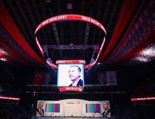 AK Parti İstanbul Aday Tanıtım Toplantısı'ndan çarpıcı kareler