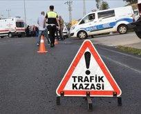 İşçileri taşıyan midibüs kaza yaptı! Çok sayıda yaralı var