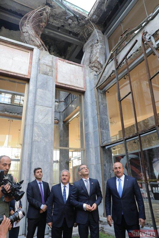 15 Temmuz'da TBMM'ye atılan ilk bombanın düştüğü alana anıt inşa edilecek