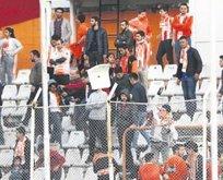 Adanaspor iki maç seyircisiz oynayacak
