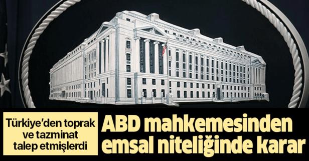 ABD'li Ermenilerin Türkiye'den toprak ve tazminat talebine ret