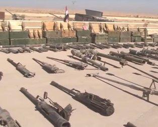DEAŞ sığınaklarında İsrail ve NATO silahları