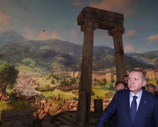 Başkan Erdoğan'dan müze açılışı