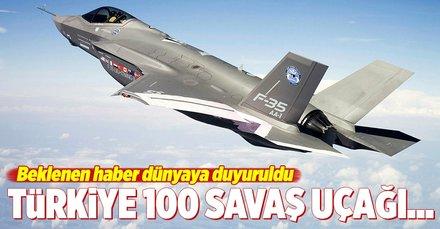 F-35lerin Türkiyeye teslimatının önündeki engeller kalktı