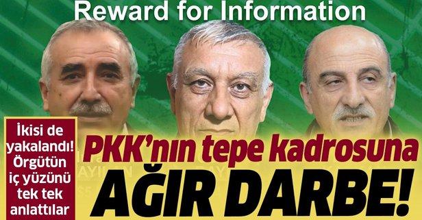 PKK'nın tepe kadrosuna büyük darbe