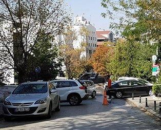 İran Büyükelçiliğinde bomba paniği