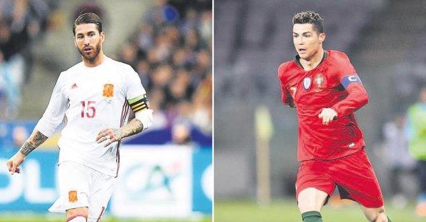 Ronaldo'nun rakibi Ramos