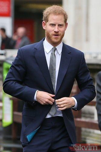 Meghan Markle ile evlenen Prens Harry'nin skandalları ağızları açık bıraktı
