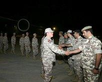 Türk askeri ambargonun belini kırdı