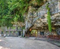 Dünyanın en lüks mağarası satışa çıktı! Siz bir de içini görün