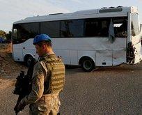 Jandarmaları taşıyan otobüs kaza yaptı! Şehit ve...