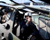 Pakistan Başbakanı Abbasi ATAK helikopteri ile test uçuşu yaptı
