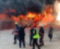 Korkutan yangın! Çok sayıda işçi hastaneye kaldırıldı