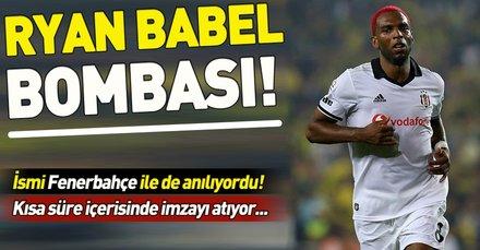 Galatasaray, Beşiktaş'ın eski yıldızı Ryan Babel'i kadrosuna katıyor