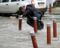 İzmirlilerin çilesi bitmiyor! Şimdi de sel felaketi...