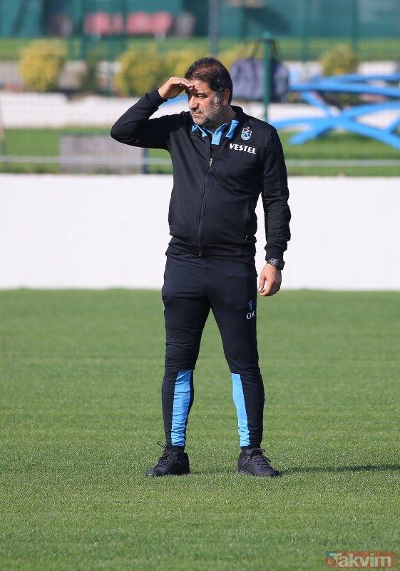 Trabzonspor seriyi sürdürmek istiyor! İşte Trabzonspor'un Galatasaray maçı 11'i...