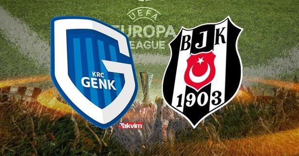 Genk - Beşiktaş maçı hangi kanalda?