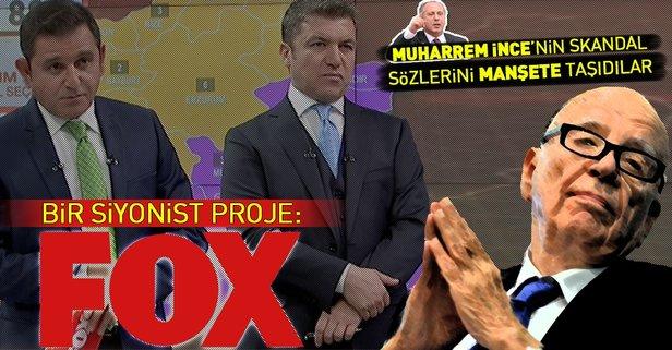 Bir siyonist proje: FOX TV