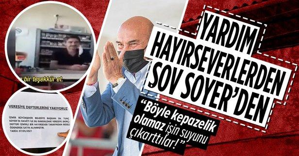 CHP'li Soyer yardım kampanyasını kendi şovuna dönüştürdü