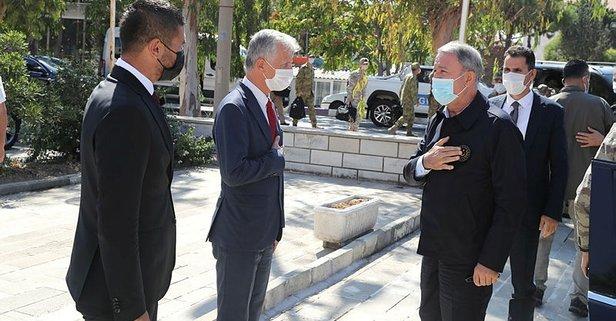 Bakan Akar ve TSK komuta kademesi İzmir'de
