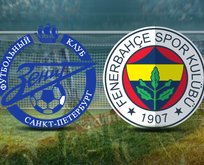 Zenit - Fenerbahçe maçı hangi kanalda?