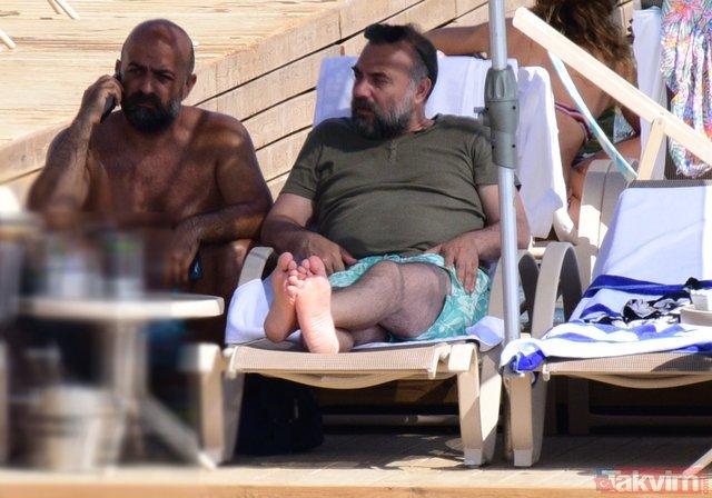 Oktay Kaynarcanın Bodrum tatili tam gaz devam ediyor!