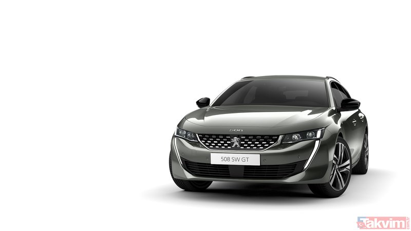 Peugeot, yeni 508 SW'yi tanıtıyor