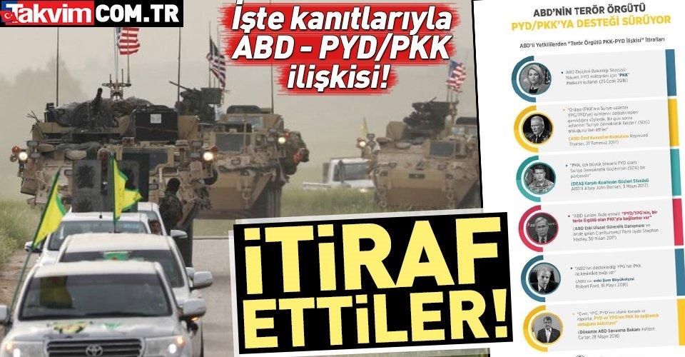 ABD'li siyasetçilerden PYD-PKK itirafı
