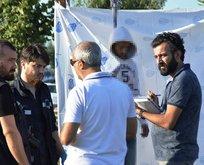 Zeytinburnu'nda vahşet! Parkta asılı halde bulundu