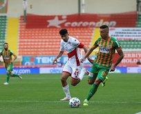 Antalyaspor'un 13 maçlık serisi son buldu